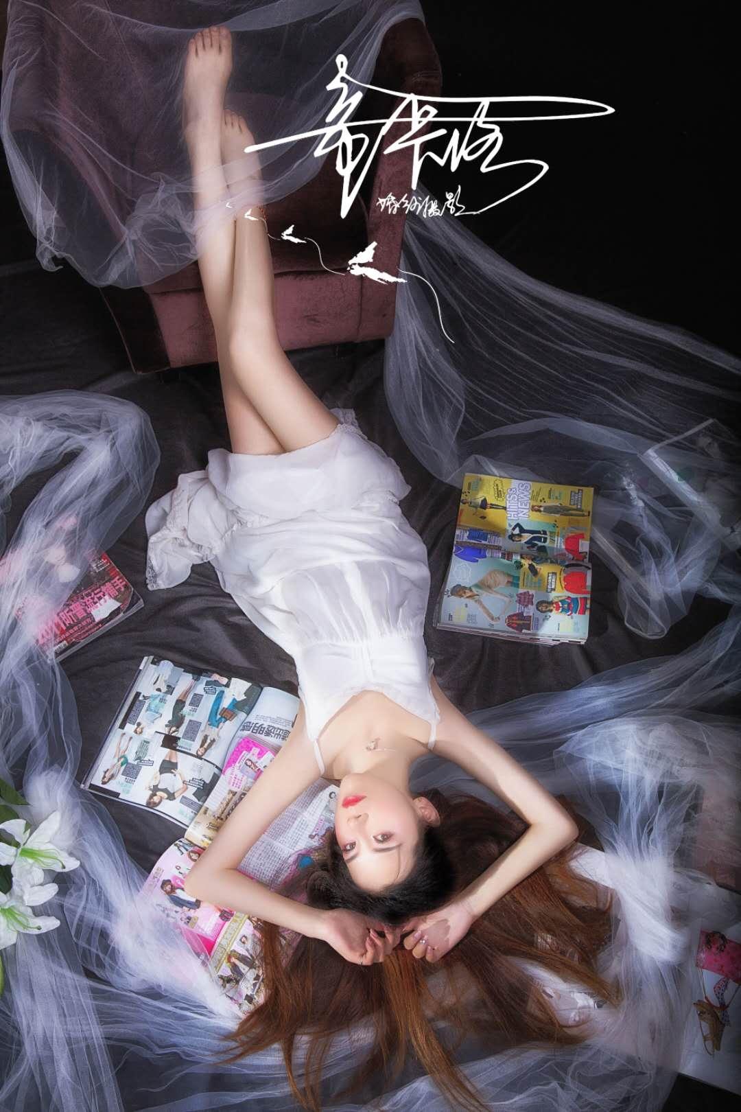 烟雨小美女写真鉴赏